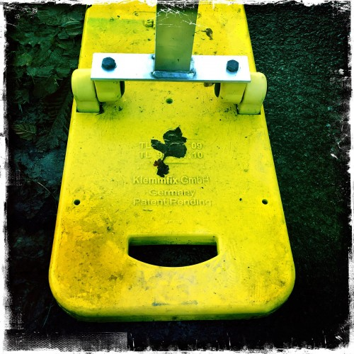 Glatt leende i höstmörkret